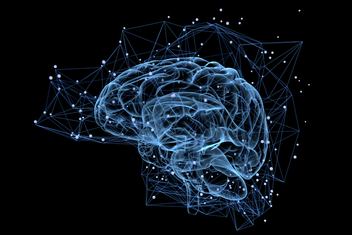graphic depiction of brain activity