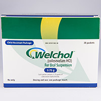 WELCHOL FOR ORAL SUSPENSION