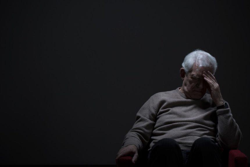 depression old man