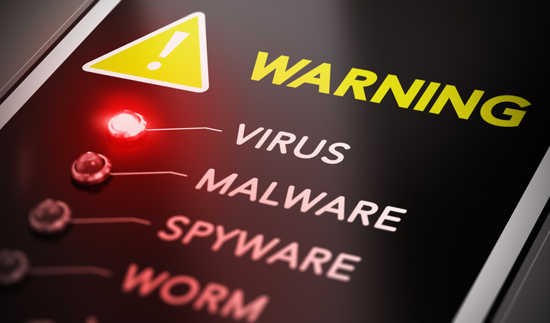 Picture of malware