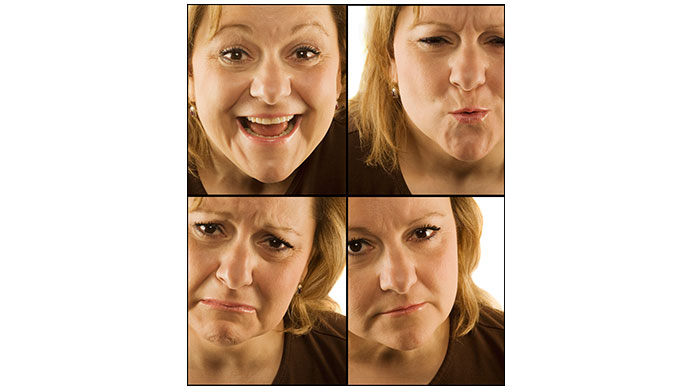 """People with bipolar disorder experience unusually intense emotional states that occur in distinct periods called """"mood episodes."""" Manic episodes consist of overly joyful or overexcited state, and depressive episodes consist of an extremely sad or hopeless state. Mood episodes can include symptoms of both mania and depression, called a mixed state."""