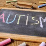 autism on chalkboard