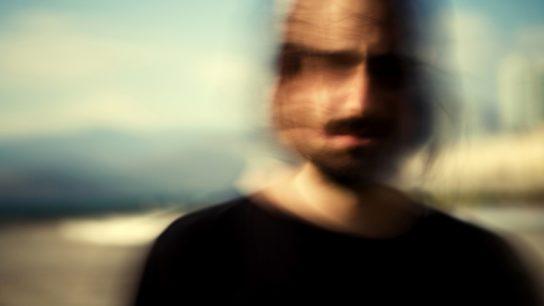 Blurred picture of a man. Schizophrenia concept