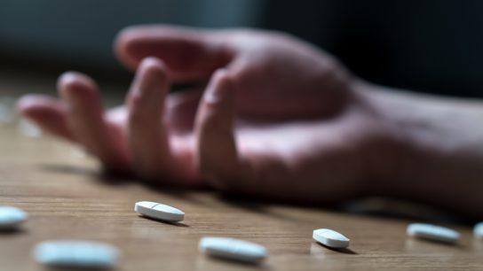 Overdose on prescription pills
