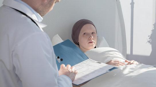 Diagnosing a younger patient.