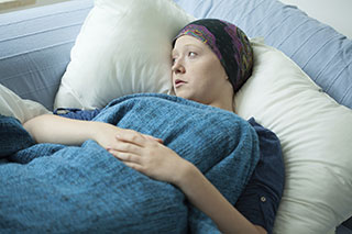 A cancer diagnosis can be traumatic